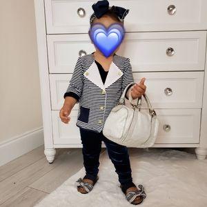 Toddler Lydia Jane Striped Nautical Sweater